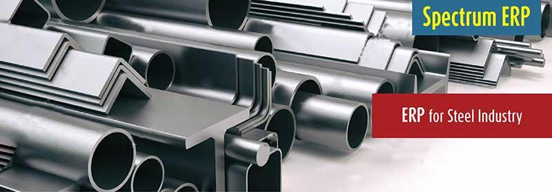 ERP for Steel Industry