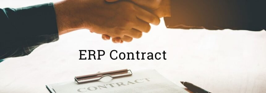 ERP Contract: What Points should be covered?
